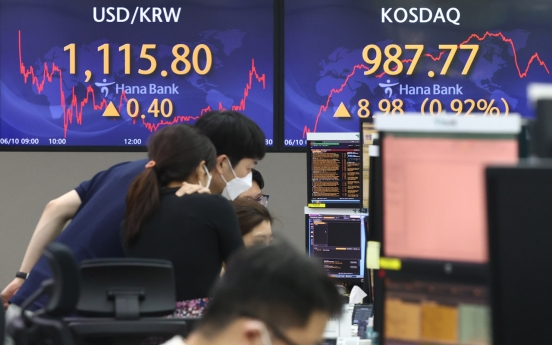 Seoul stocks rebound on tech gains, foreign buying