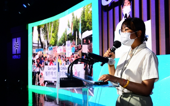[#WeFACE] Climate activists calling for big changes, now