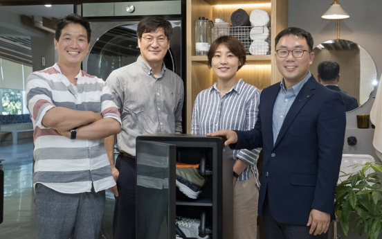 [Herald Interview] Samsung's ShoeDresser to replace shoe closet at home