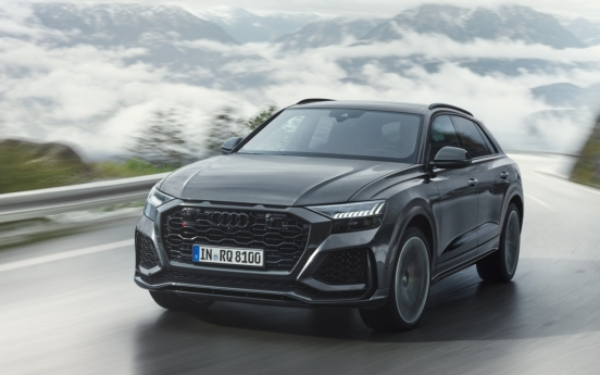 Audi rolls out RS Q8, high-performance SUV