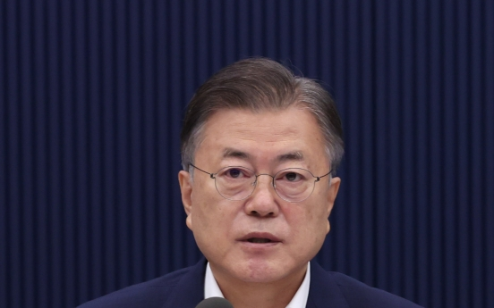 Moon praises ascent of main opposition's new young chairman as historic feat