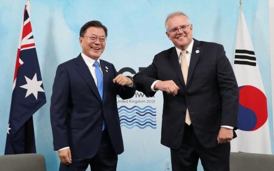 S. Korea, Australia to deepen ties on low-carbon energy use