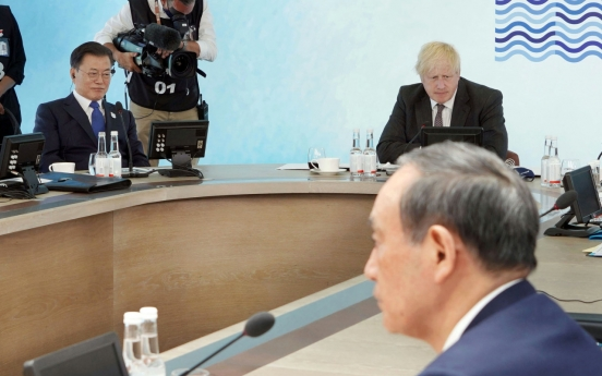 Japan unilaterally cancels plan for talks between Moon, Suga: official