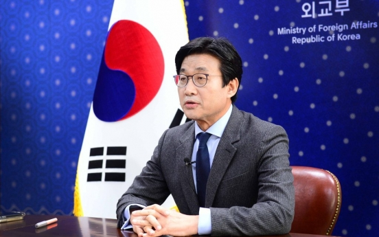 China not discussed at G-7 meetings South Korea took part in: vice FM