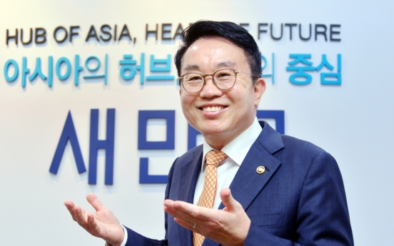 [Herald Interview] Saemangeum to be mecca of green industries in Korea