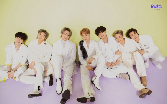 BTS agency's market value tops W10tr on band's global popularity
