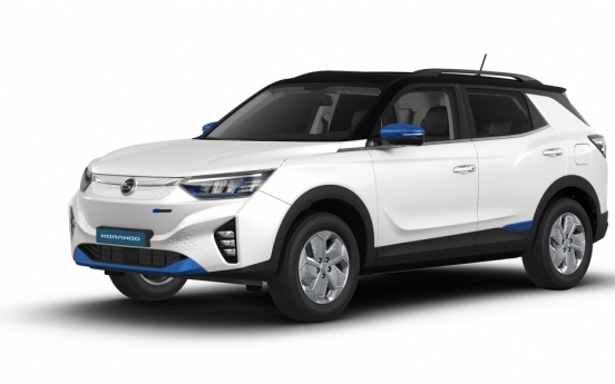 Financially troubled SsangYong Motor to launch first EV in Europe