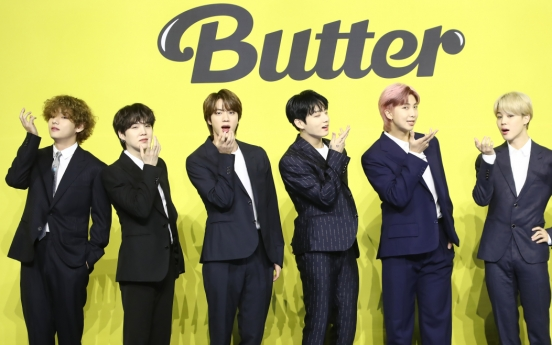 Hybe's market value jumps on BTS' new single 'Butter'