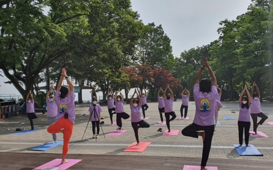 Indian Embassy gears up for International Day of Yoga