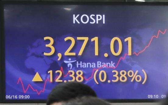 Seoul stocks open higher on techs, autos