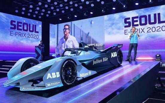 Formula E to make Seoul debut next year