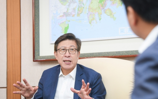 [Herald Interview] Busan Mayor Park Heong-joon maps out city's future in 2030 World Expo bid