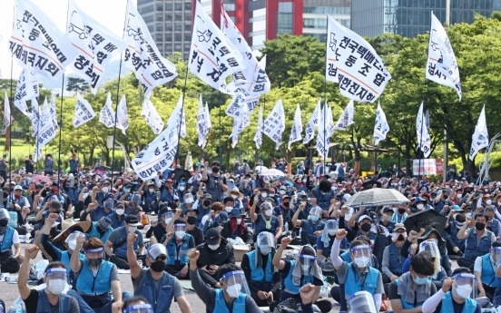 Two delivery workers test positive for COVID-19 after joining mass rally