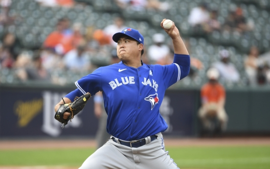 Blue Jays' Ryu, Cardinals' Kim again miss out on chance to win on same day
