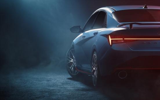 Hyundai unveils Avante N performance model