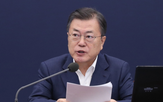 Moon says S. Korea to keep expanding role on key global issues