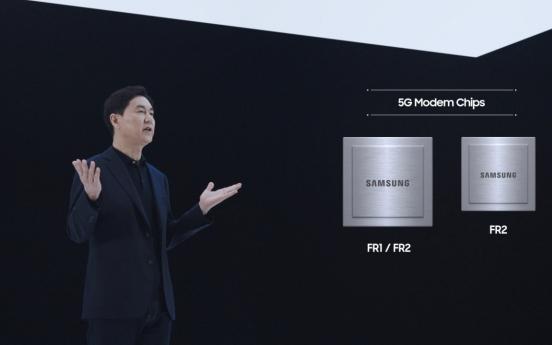 Samsung unveils 3 new 5G chips, one antenna radio