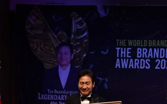 ACTOR AHN SUNG-KI WINS THE BRAND LAUREATE AWARDS