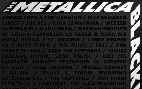 Rock band YB takes part in Metallica's charity album