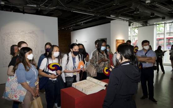 First walking tour in London held to introduce Korean history