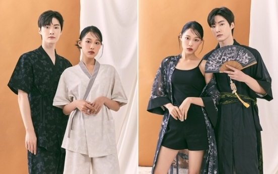 SPAO launches daywear hanbok collection
