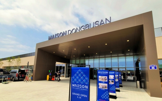 [Photo News] Lotte Maison Dong Busan opens in East Busan