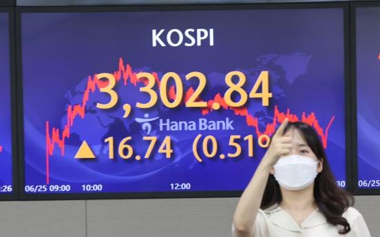S. Korean stocks log higher return than real estate, gold investments in H1