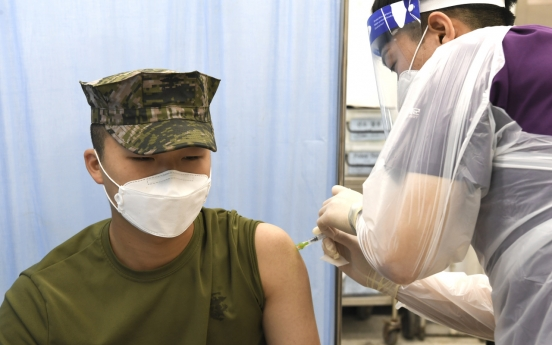Military begins providing 2nd COVID-19 vaccine shots to troops under 30