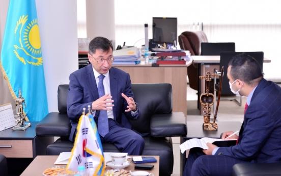 [Herald Interview] Cultural, people-to-people ties will boost Korea-Kazakhstan ties