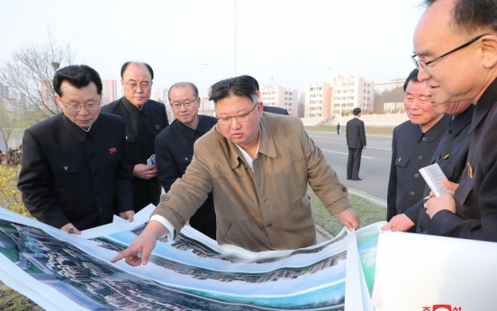 N. Korea builds apartments on site for late founder's house