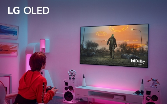 LG's OLED TVs support Dolby Vision Gaming at 4K, 120Hz