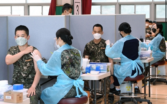 Soldier tests positive for COVID-19 after receiving 1st dose of vaccine