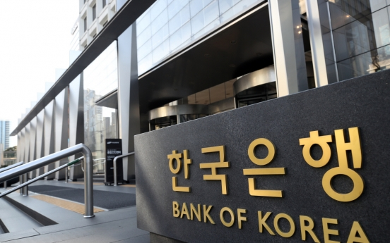 BOK sells net $103m in market smoothing operations in Q1