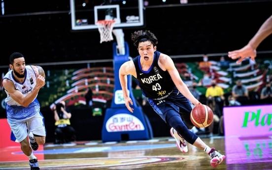 S. Korea falls to Venezuela to open Olympic men's basketball qualifying event
