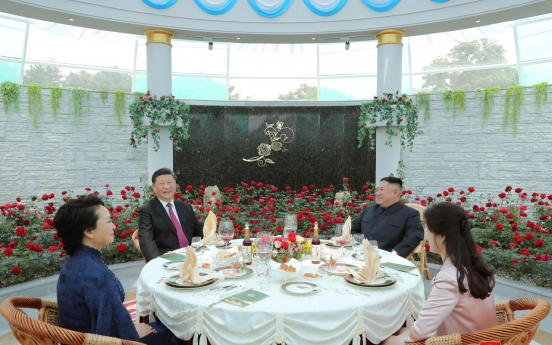 NK leader vows to elevate relations with China to new strategic point