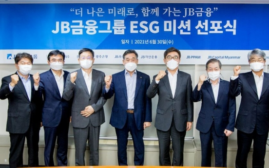 JB Financial sets ESG goals for sustainable growth