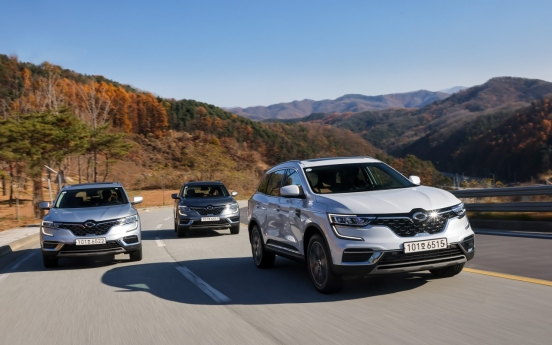 Renault Samsung's diesel-powered QM6 offers quiet, eco-friendly driving