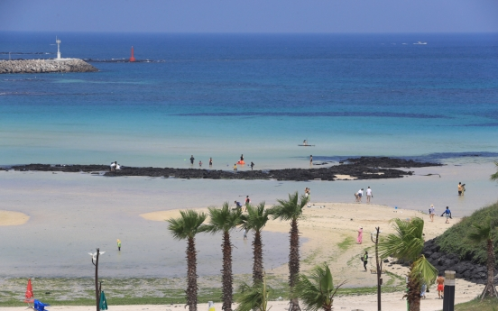 [Photo news] Beaches officially open on Jeju Island