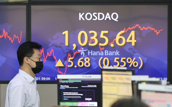 Kosdaq refreshes yearly-high closing above 1,035 points
