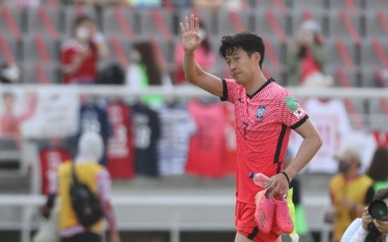 Son Heung-min left off S. Korean Olympic team despite green light from Tottenham: source