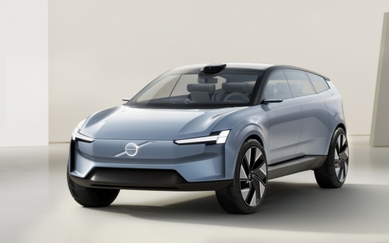 Volvo Concept Recharge reveals what carmaker is going for with EVs
