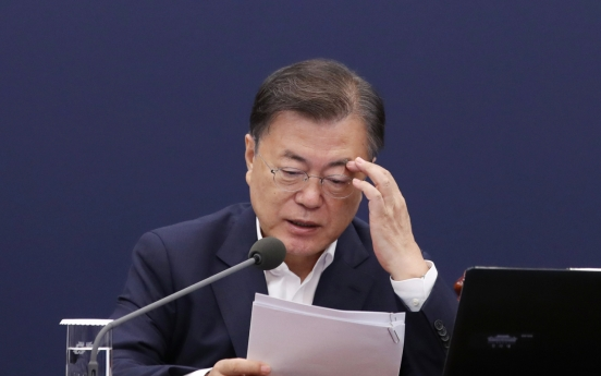 Moon warns of stern punishment against acts of hampering antivirus fight
