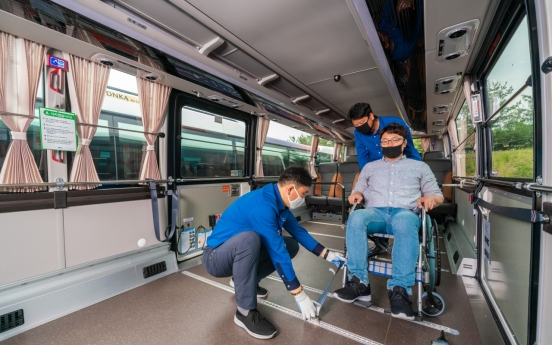 Seoul to run free shuttles for wheelchair users getting COVID-19 vaccines