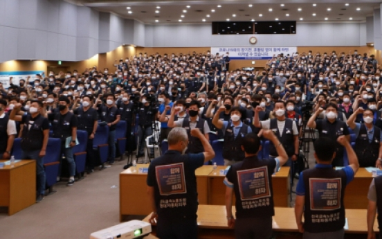 Korean automakers face tough road ahead as workers plan for strike