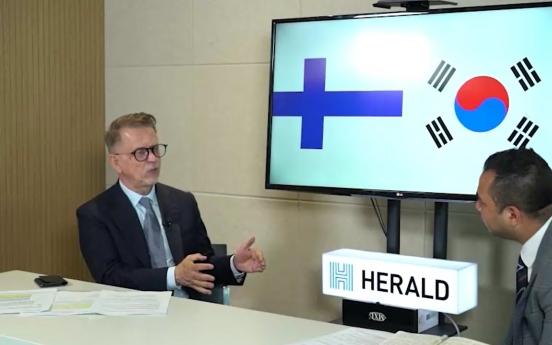 Finland-Korea cooperation has great potential in post-COVID era: Finnish ambassador