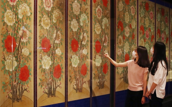 Peonies in all their fragrant glory explored at National Palace Museum show