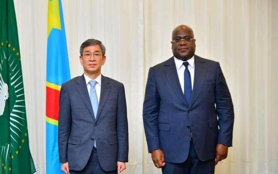 Senior diplomat meets top DR Congo officials to discuss bilateral cooperation