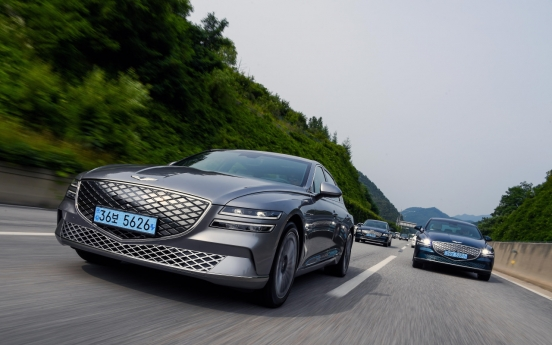 [Behind the Wheel] Genesis poised to take on EV world with G80