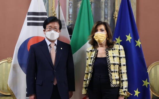 Assembly speaker urges Italy to include Korea in COVID 'Green Pass' travel list