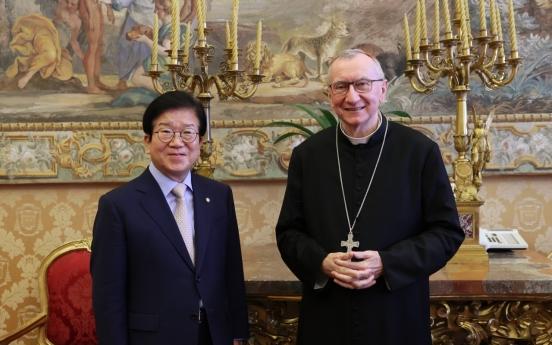 Pope awaiting invitation to visit North Korea